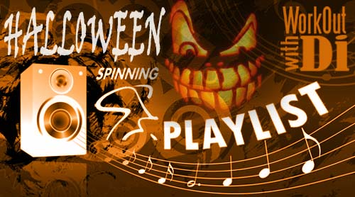 Spin Playlist - Halloween 2012 - Di Hickman