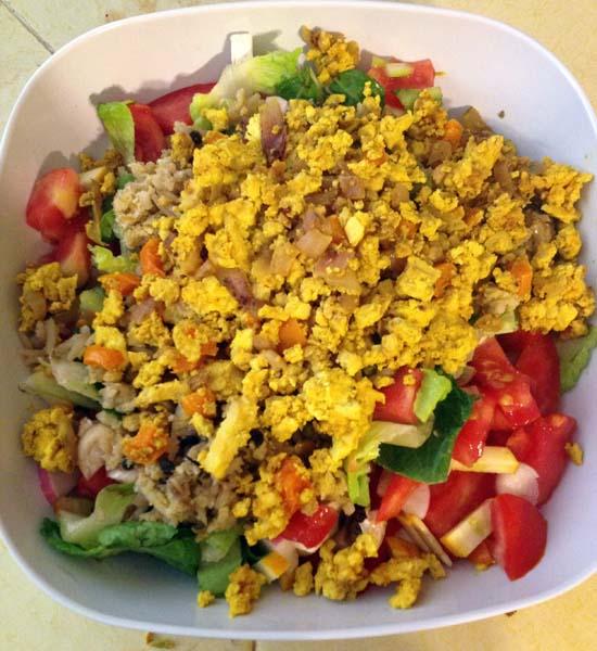 scrambled tofu recipe B