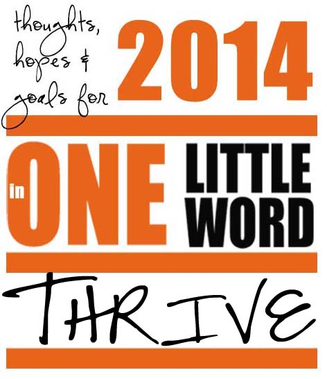 One little word – 2014