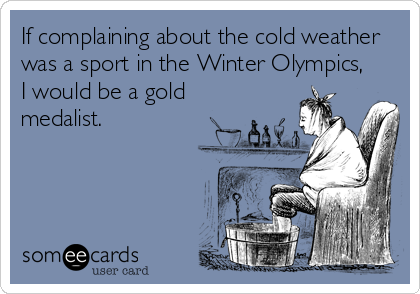 winter olympics cold funny