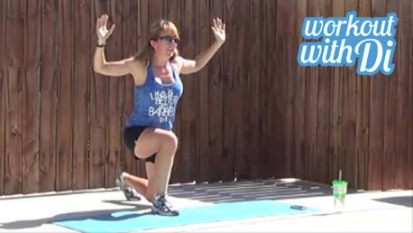 12 minute interval hiit workout 20140527 lunges