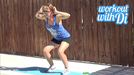 12 minute interval hiit workout 20140527 squats