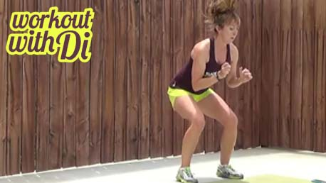 5 minute HIIT workout 20140515 - jumps
