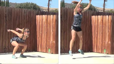 20 minute interval workout 20140618 jump