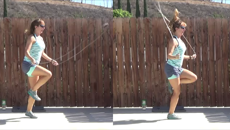 8 minute jump rope pyramid workout 20140903 jumprope RUN