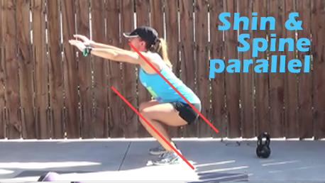 crossfit style workout 20140924 squat mechanics