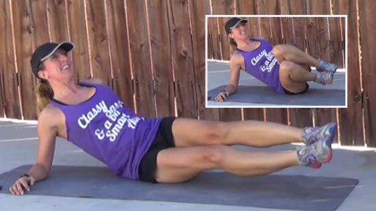 12 minute core workout mermaid