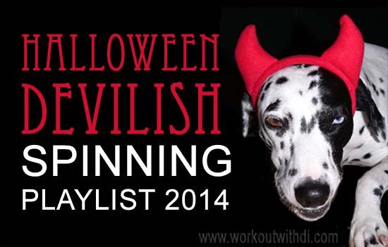 halloween spinning playlist 2014