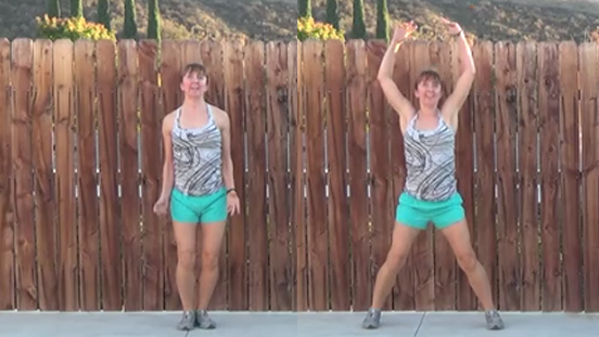 5 minute total body workout 20141125 jumping jacks