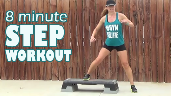 8 minute step workout 20141105 thumbnail