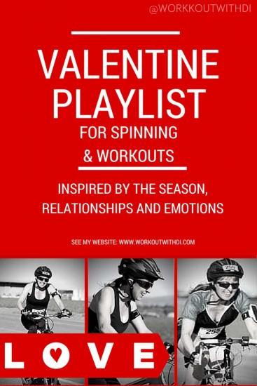 valentine themed workout playlist