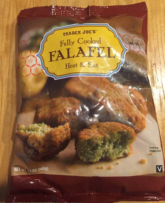 trader joes mediterranean hummus meatless monday vegan greek falafel salad 4