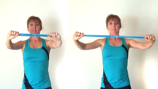 10 minute resistance band workout