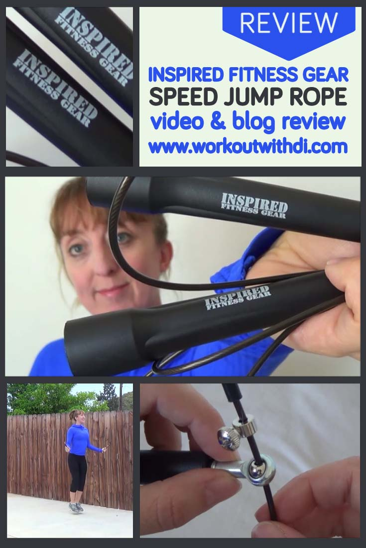 Inspired fitness gear jump rope review