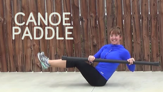 bodybar workout CANOE PADDLE CORE