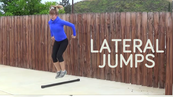 bodybar workout LATERAL JUMP