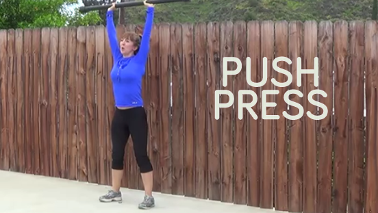 bodybar workout push press