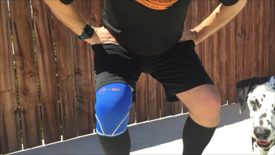 Review & Giveaway – Fitoby knee sleeve