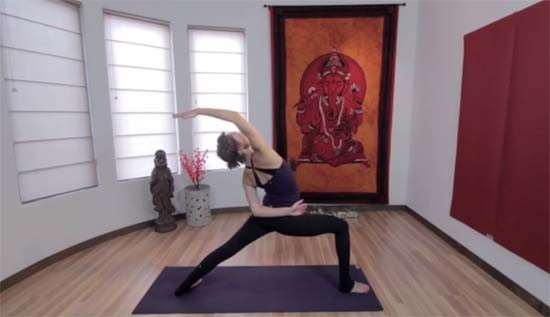yoga sweat dvd review
