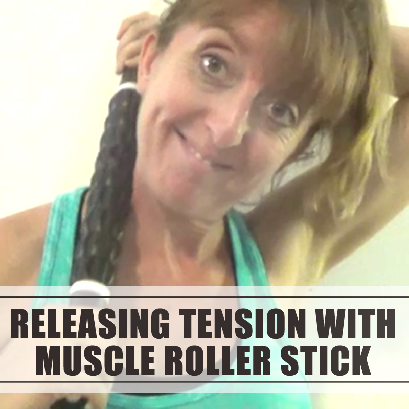 Muscle roller stick for myofascial release