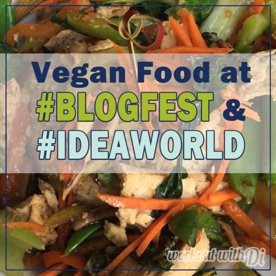 vegan food blogfest idea world 2015