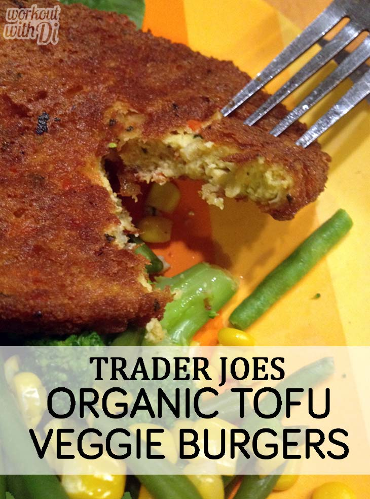 Review: Trader Joe's Organic Tofu Veggie Burger