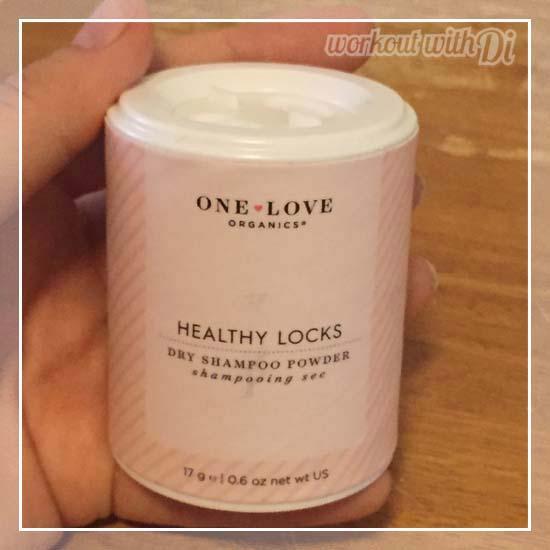 VEGAN Cuts BEAUTY BOX AUGUST 2015 one love organics dry shampoo