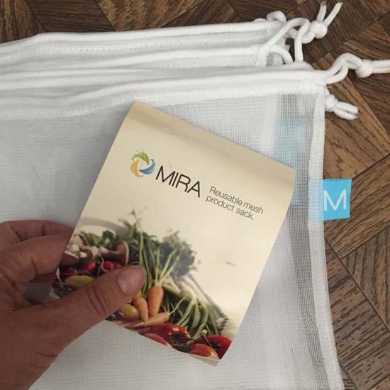 mira reusable produce bags