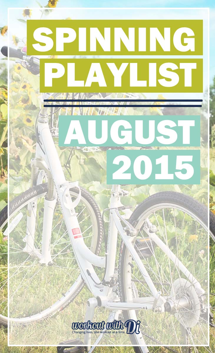spinning playlist august 2015
