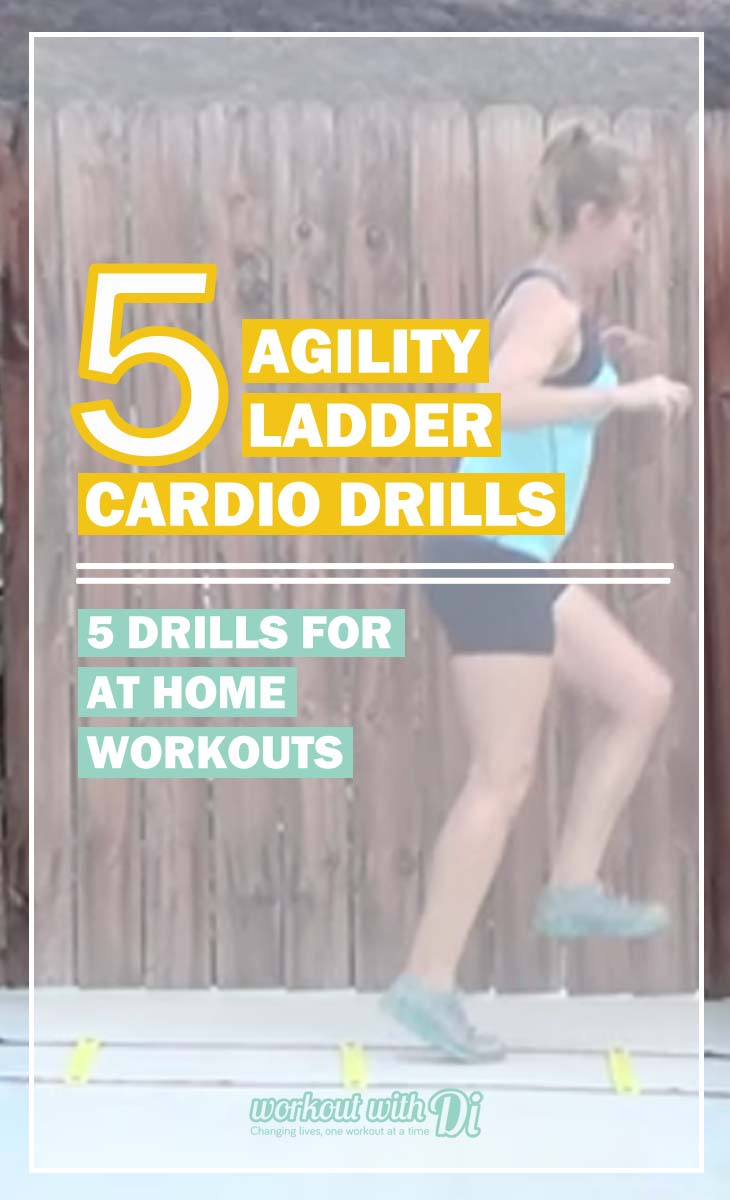 5 Agility Ladder Drills Cardio Workout