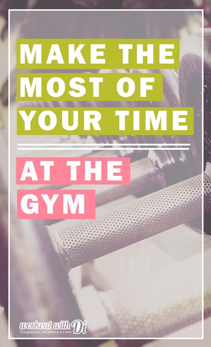 Gym time saving tips