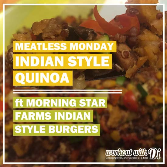 MORNING STAR FARMS INDIAN STYLE BURGER QUINOA