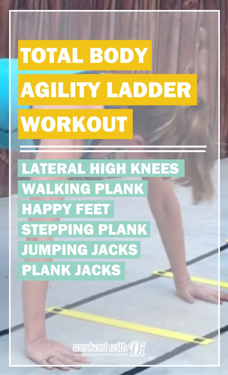 Total Body Agility Ladder Workout