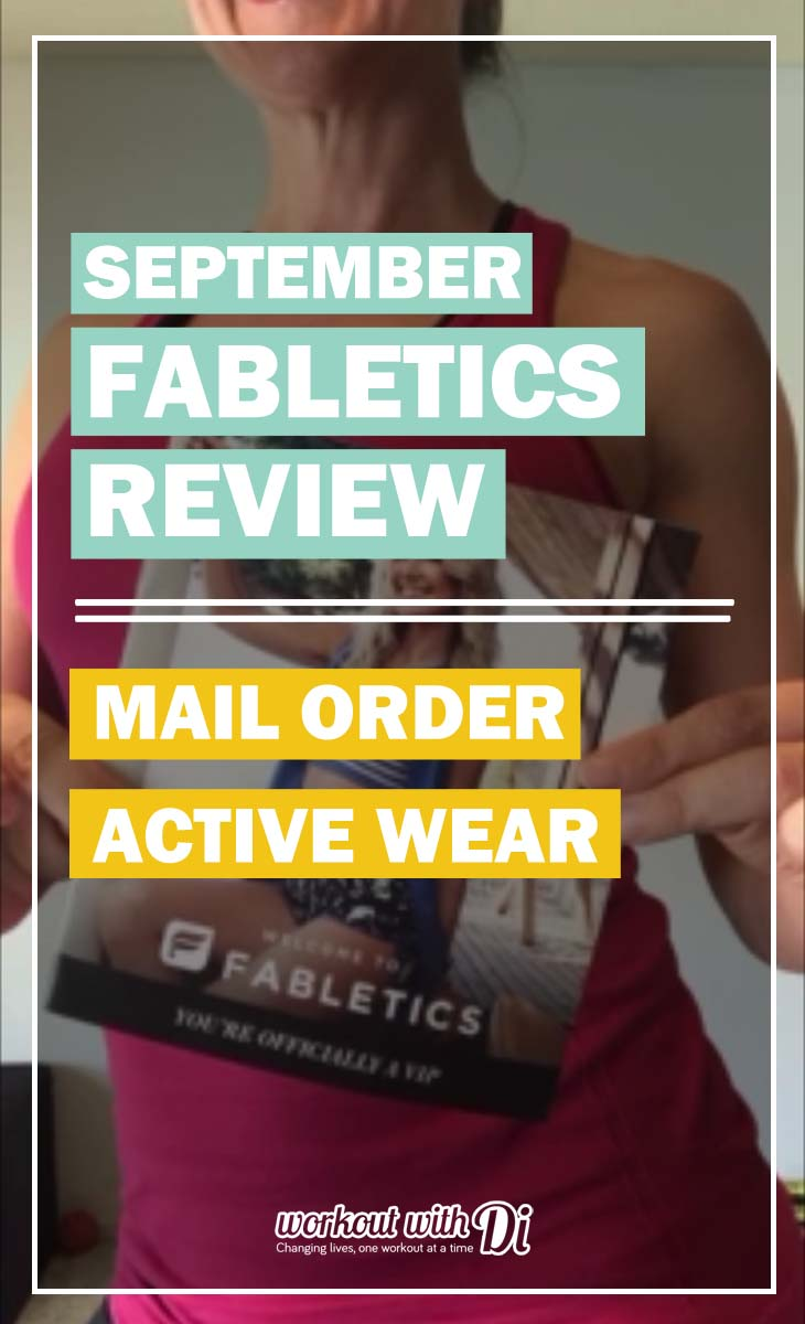 My first Fabletics outfit REVIEW SEPT