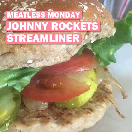 Vegan Options at Johnny Rockets: The Streamliner