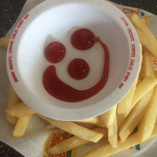 johnny rockets vegan fries