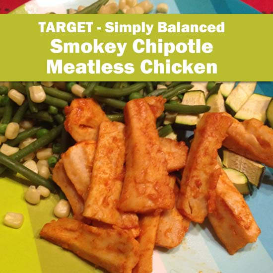 Review: Simply Balanced Smoky Chipotle Meatless Chicken