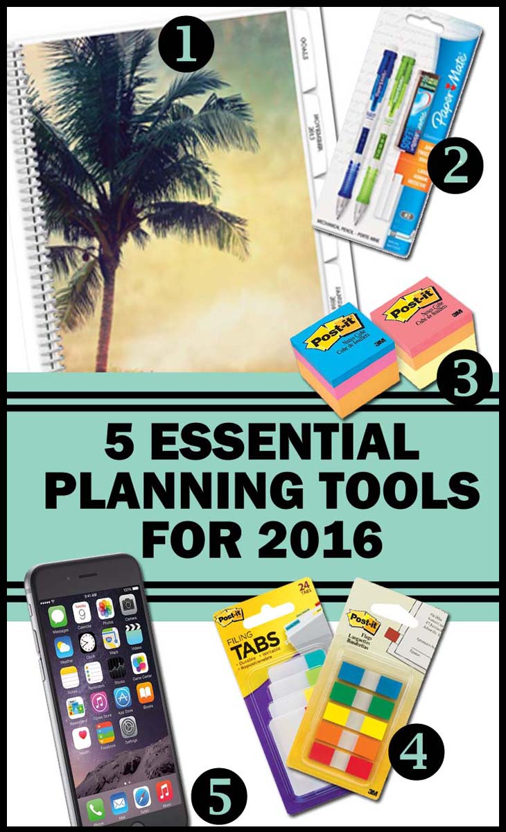 5 essential planning tools for 2016