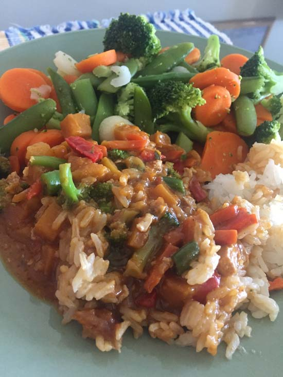 amys thai red curry review