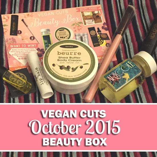 Vegan Cuts October Beauty Box Review