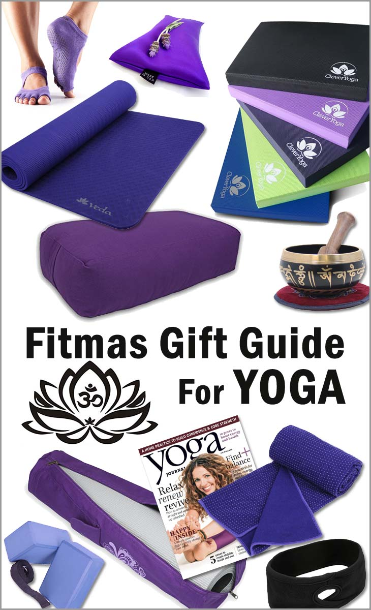 Fitmas gift guide for yoga