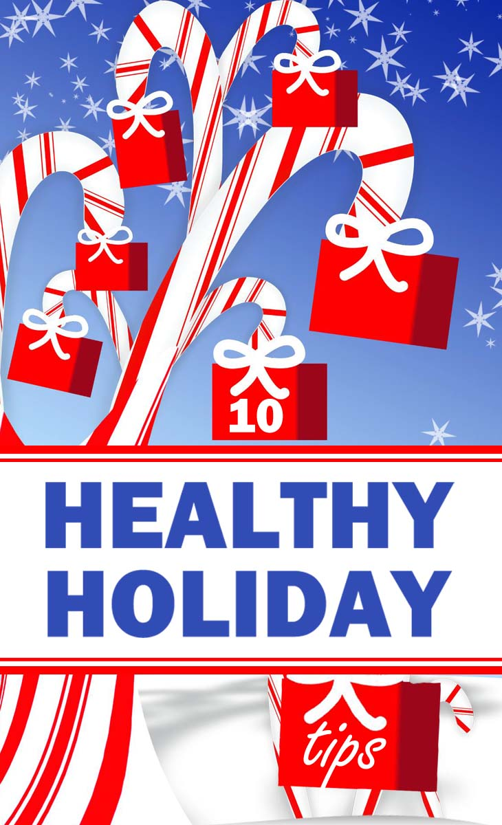 healthy holiday tips pin