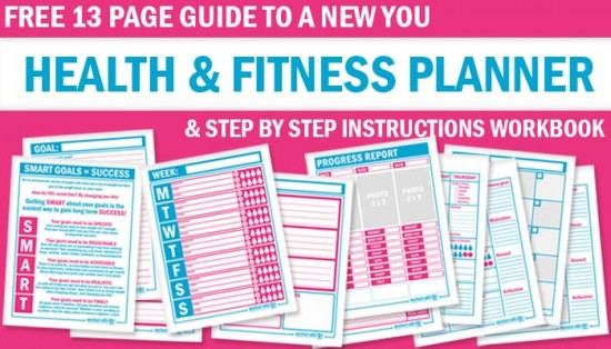 free health and fitness planner