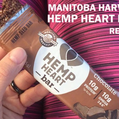 Snacking on Manitoba Harvest Hemp Heart Bars