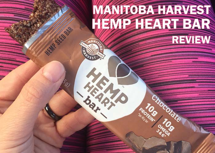 Snacking on Manitoba Harvest Hemp Heart Bars