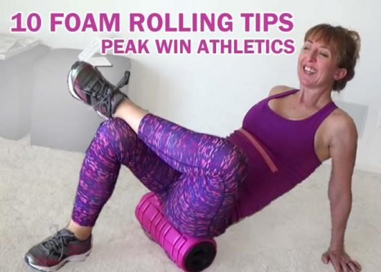 10 foam rolling tips