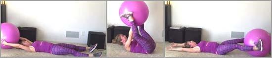 stability ball transfer