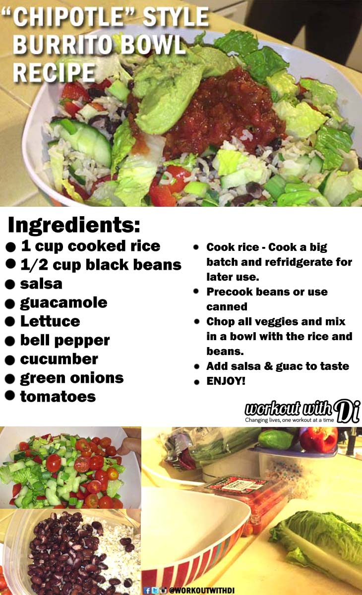 meatless monday burrito bowl recipe