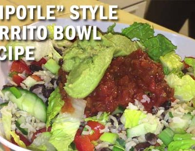 Recipe – Chipotle Style Burrito Bowl