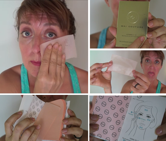 Vegan Cuts Beauty Box June 2016 unboxing blotting paper